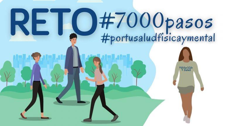 Lee más sobre el artículo RETO 7000 PASOS POR TU SALUD FÍSICA Y MENTAL